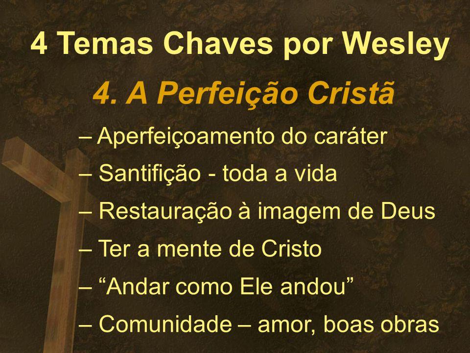 4 Temas Chaves por Wesley 4.