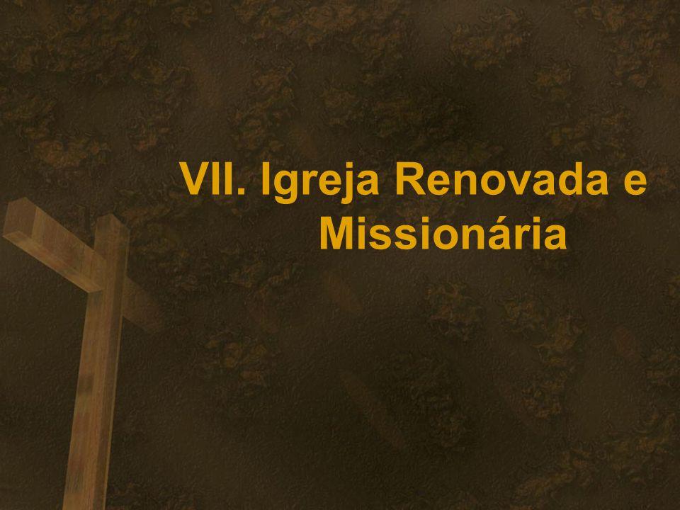 VII. Igreja Renovada e Missionária