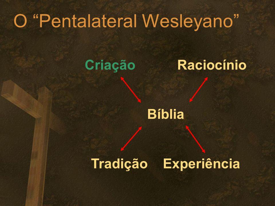 O Pentalateral Wesleyano Criação Raciocínio Bíblia Tradição Experiência