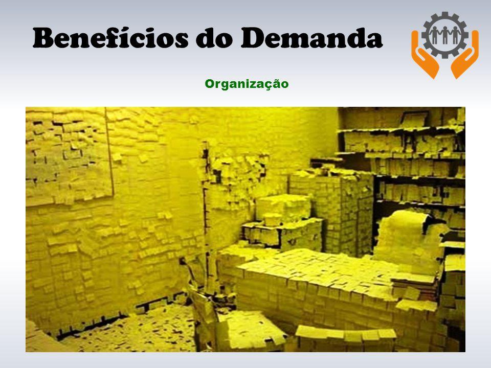 Benefícios do Demanda Organização