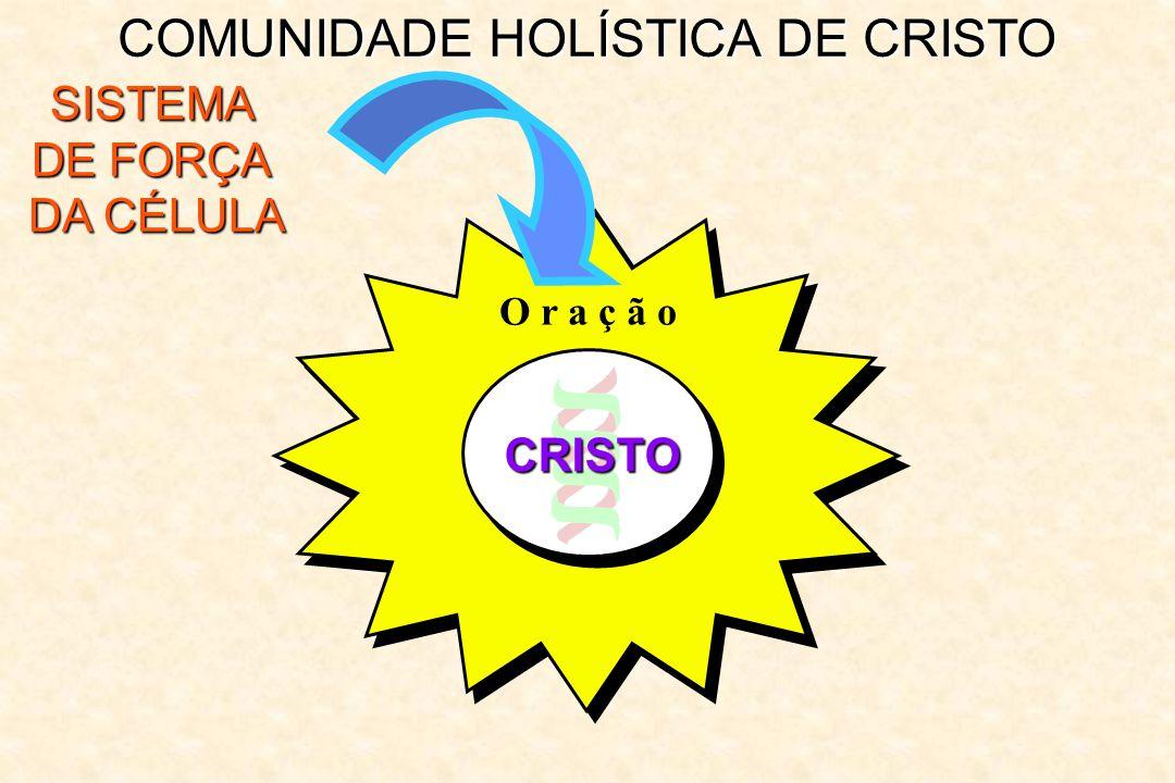 COMUNIDADE HOLÍSTICA DE CRISTO SISTEMA DE FORÇA DA CÉLULA CRISTO O r a ç ã o