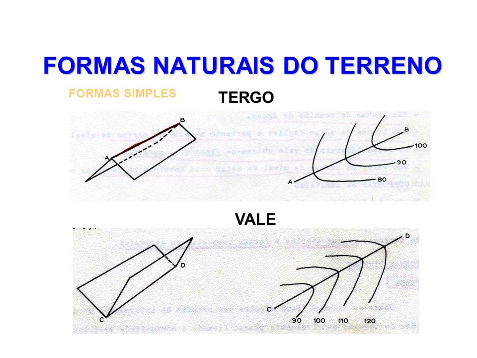 FORMAS NATURAIS DO TERRENO FORMAS SIMPLES TERGO VALE