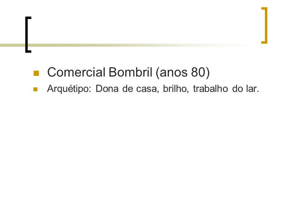 Comercial Bombril (anos 80) Arquétipo: Dona de casa, brilho, trabalho do lar.