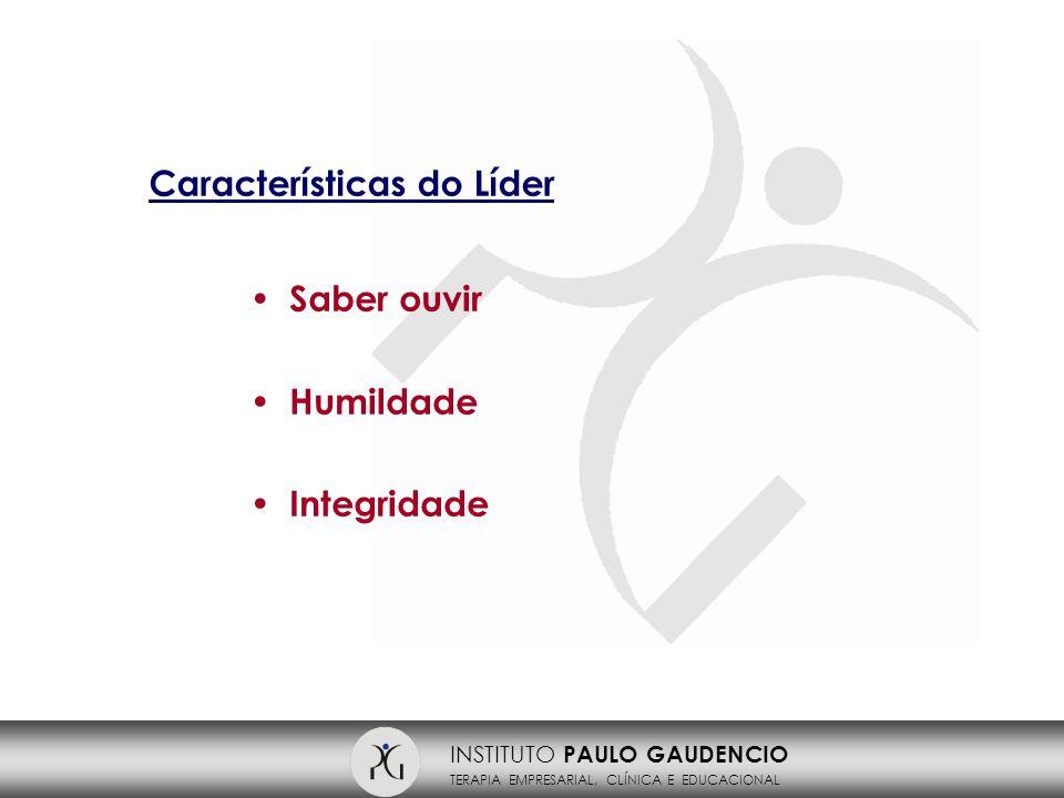 INSTITUTO PAULO GAUDENCIO TERAPIA EMPRESARIAL, CLÍNICA E EDUCACIONAL I NSTITUTO P AULO G AUDENCIO R.