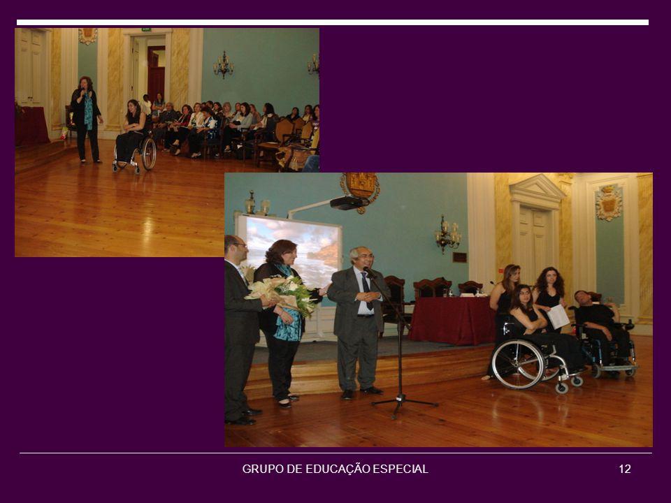 GRUPO DE EDUCAÇÃO ESPECIAL12
