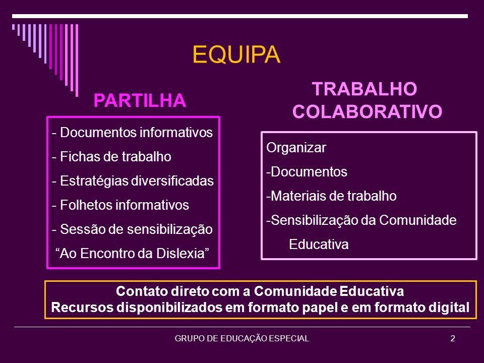 GRUPO DE EDUCAÇÃO ESPECIAL3 Utilização da Plataforma Moodle do Agrupamento http://gap-m.ccems.pt/ Disciplina Grupo 910- Educação Especial 1 Disciplina Grupo 910 Educação Especial 2010/2011