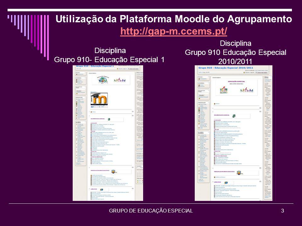 GRUPO DE EDUCAÇÃO ESPECIAL4 Divulgação dos Projetos Partilhar para Inovar http://gap-m.ccems.pt/ Dislexia Hiperatividade