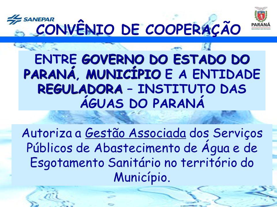 6 CONTRATO DE PROGRAMA MUNICÍPIO DE GUAÍRA E A COMPANHIA DE SANEAMENTO DO PARANÁ – SANEPAR Contrato de Programa para a Prestação de Serviços Públicos de Abastecimento de Água e Esgotamento Sanitário, que entre si celebram o MUNICÍPIO DE GUAÍRA E A COMPANHIA DE SANEAMENTO DO PARANÁ – SANEPAR.