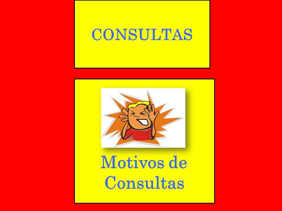 CONSULTAS Motivos de Consultas