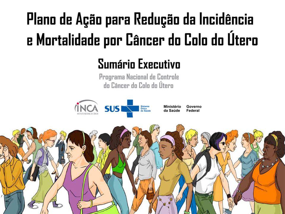 EIXO 3 Garantia de qualidade do tratamento Implantar Centros Qualificadores de Ginecologistas para aperfeiçoar e ampliar a oferta de tratamento das lesões precursoras, com regulação de acesso.