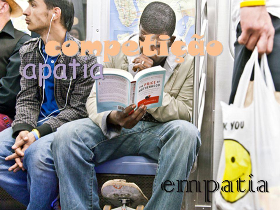 competição apatia empatia