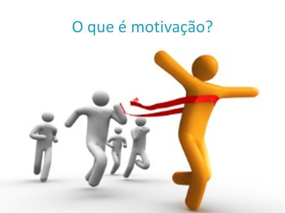 O que é motivação