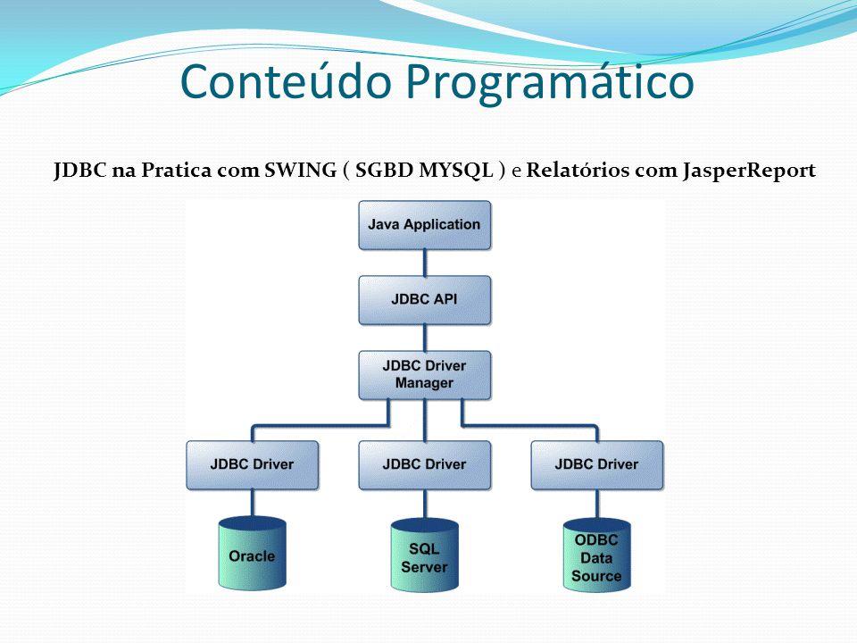 JDBC na Pratica com SWING ( SGBD MYSQL ) e Relatórios com JasperReport