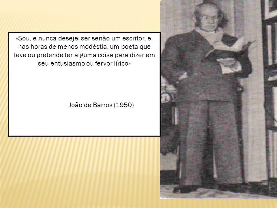 João de Barros demonstra uma ideologia em que o educador deveria se preocupar em formar um cidadão.