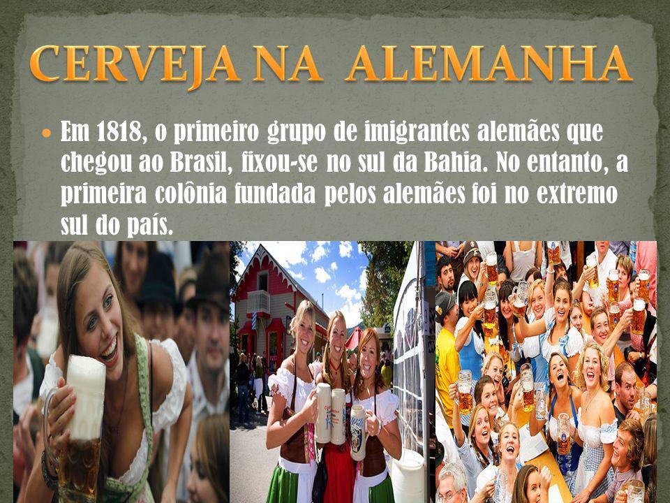 Em 1818, o primeiro grupo de imigrantes alemães que chegou ao Brasil, fixou-se no sul da Bahia. No entanto, a primeira colônia fundada pelos alemães f