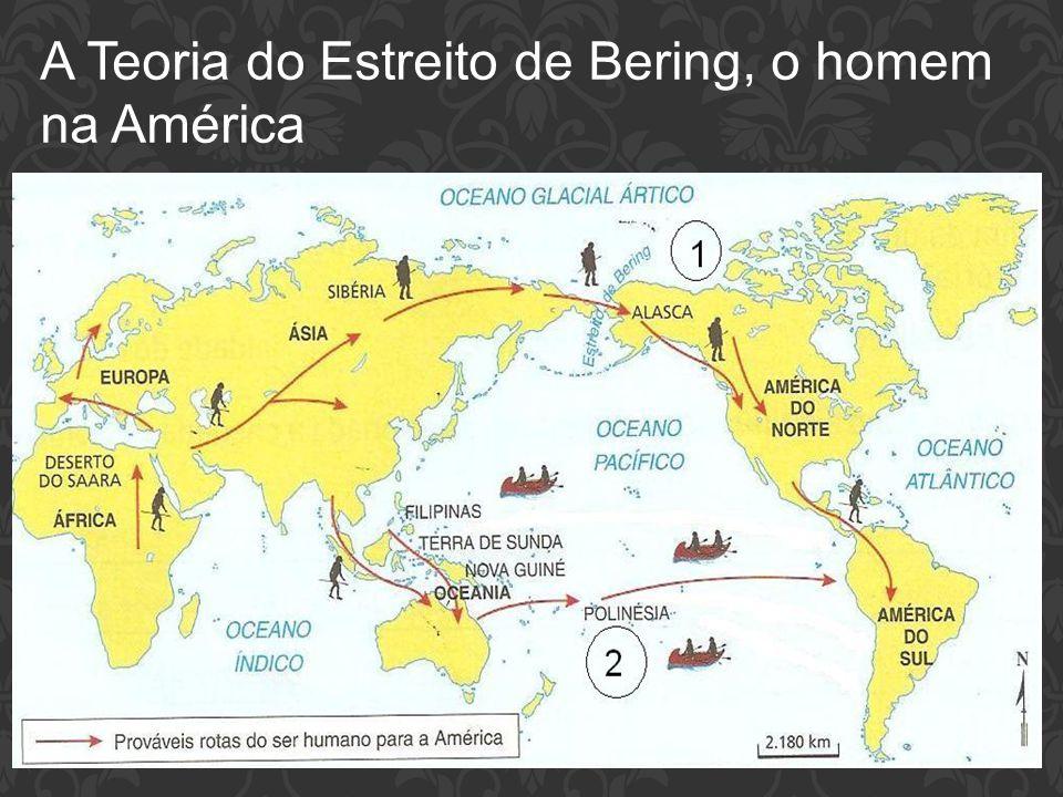 A Teoria do Estreito de Bering, o homem na América
