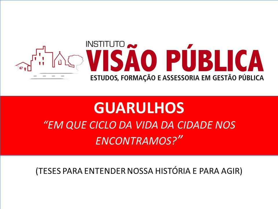 INTRODUÇÃO  O ciclo que identificava de pronto Guarulhos como uma cidade industrial durou cerca de 45 anos.
