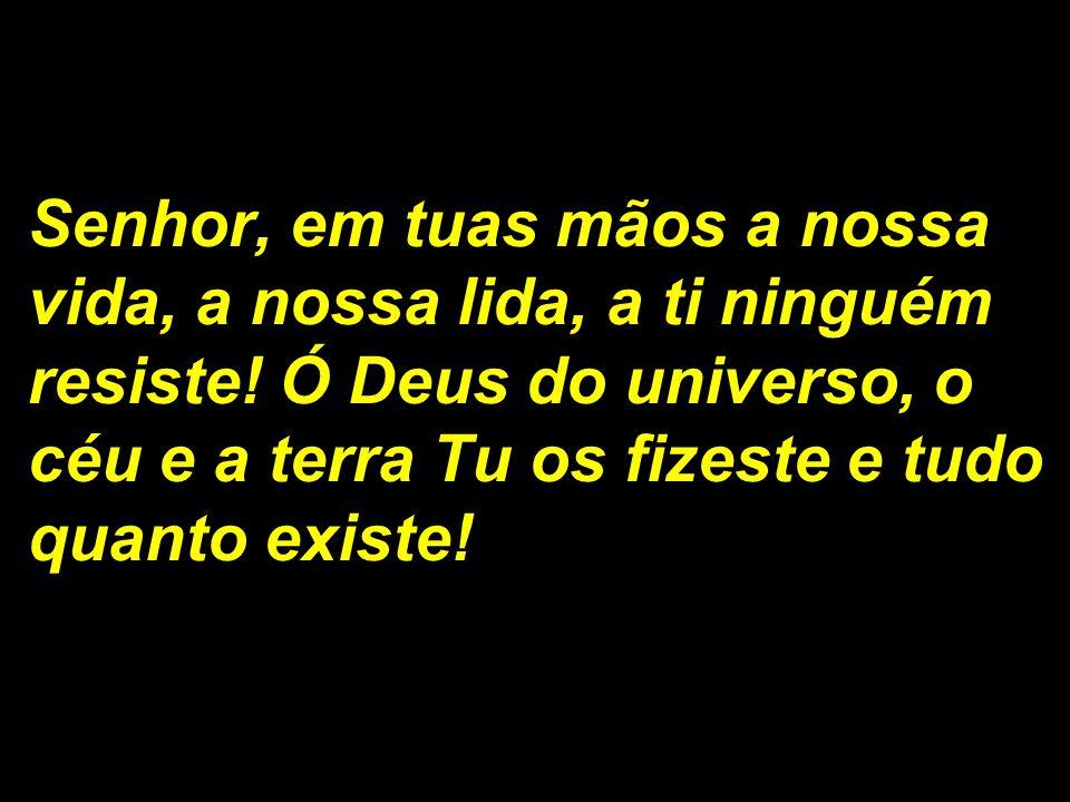 Leitura da Carta de São Paulo aos Filipenses.
