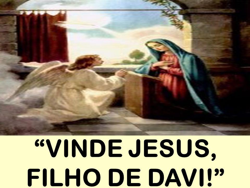 """""""VINDE JESUS, FILHO DE DAVI!"""""""