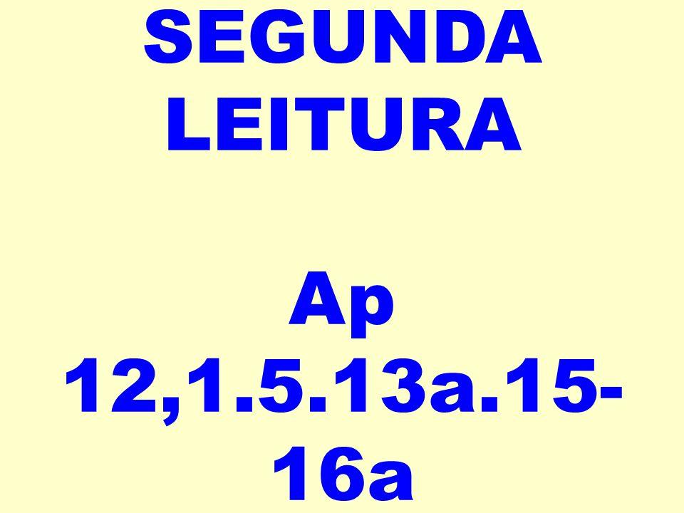 SEGUNDA LEITURA Ap 12,1.5.13a.15- 16a