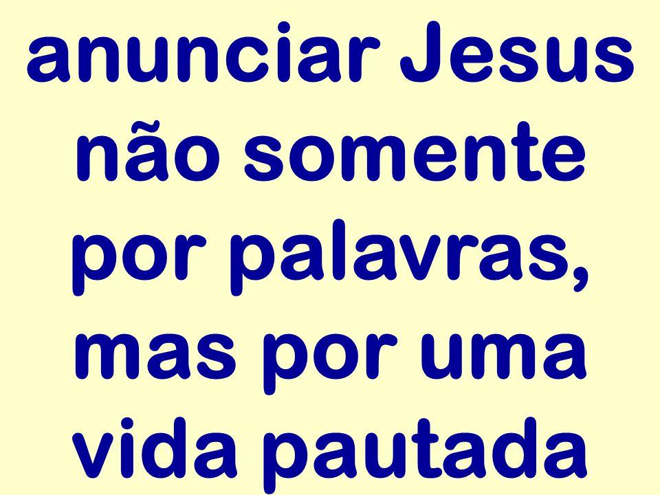 O Senhor Jesus, que nos convida