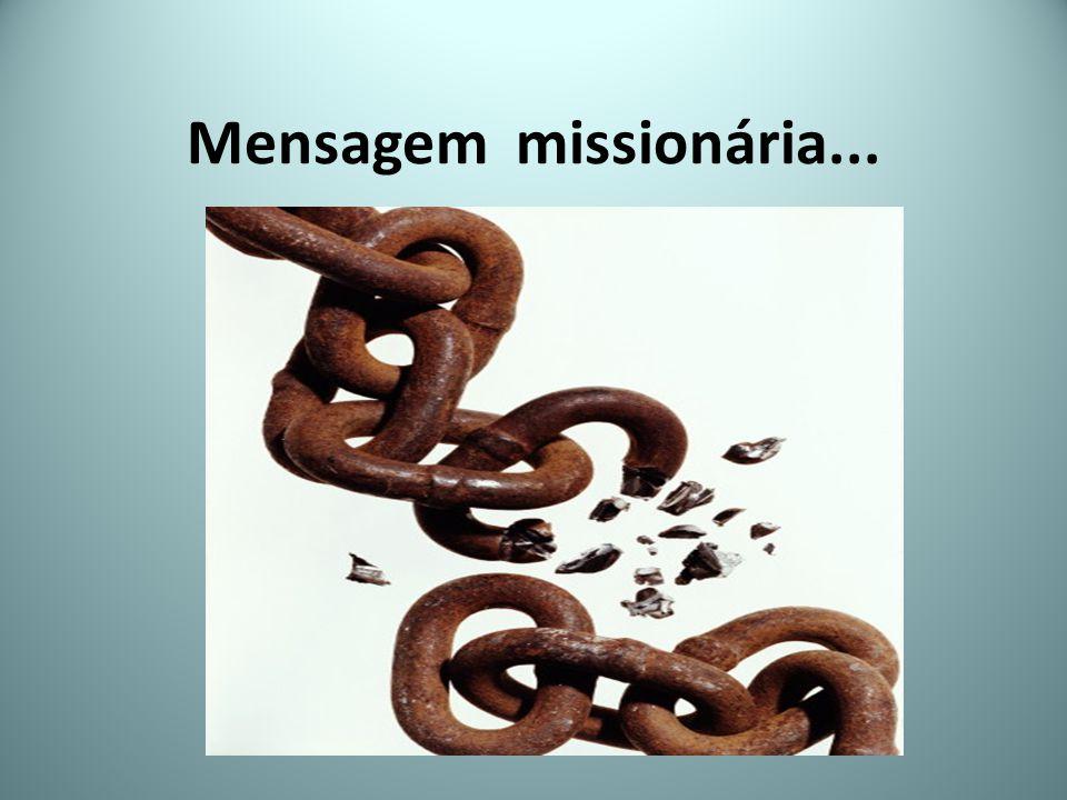 Mensagem missionária...