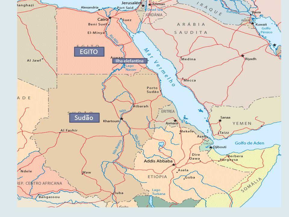 S Sudão EGITO Ilha elefantina