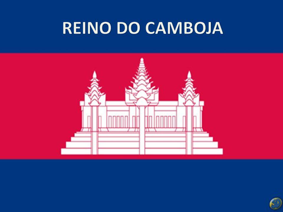 N S EO CAPITAL  O Camboja tem cerca de 181 040 km² de superfície.