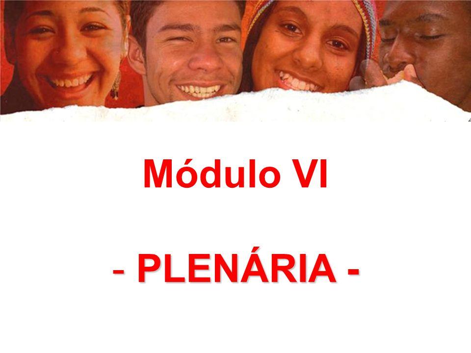 Módulo VI - PLENÁRIA -