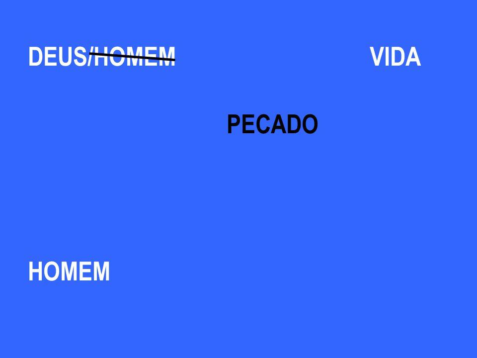 DEUS HOMEM /HOMEMVIDA PECADO