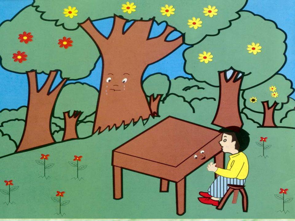 Eu morava numa floresta e entre as árvores que estavam ao meu redor, era eu a mais bela.