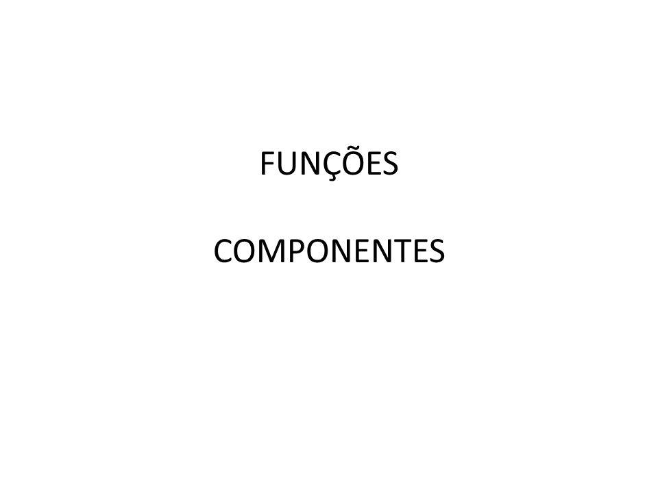 FUNÇÕES COMPONENTES