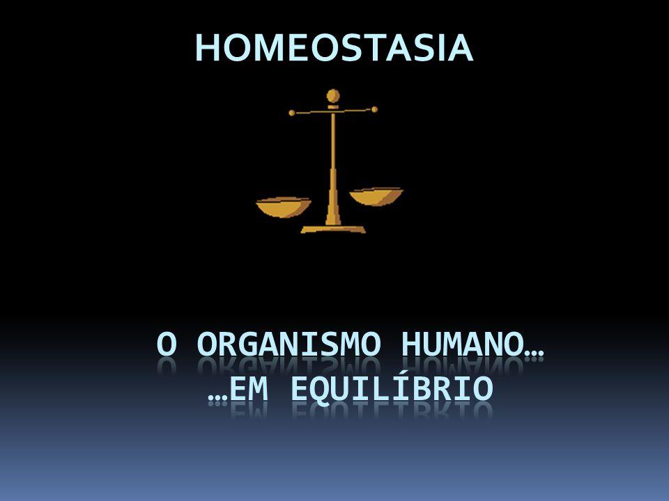 Manter a vida humana, em todas as suas dimensões, implica…  …a coordenação entre os vários sistemas de órgãos.