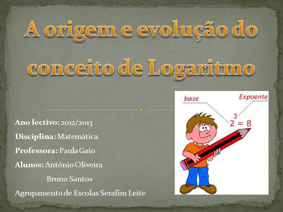 Ano lectivo: 2012/2013 Disciplina: Matemática Professora: Paula Gaio Alunos: António Oliveira Bruno Santos Agrupamento de Escolas Serafim Leite