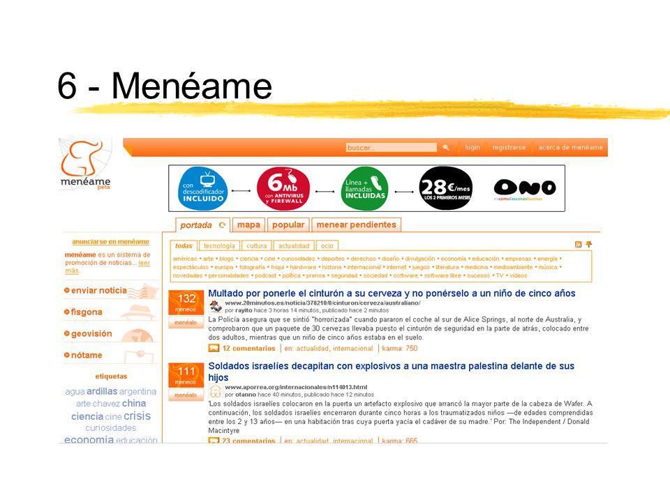 6 - Menéame