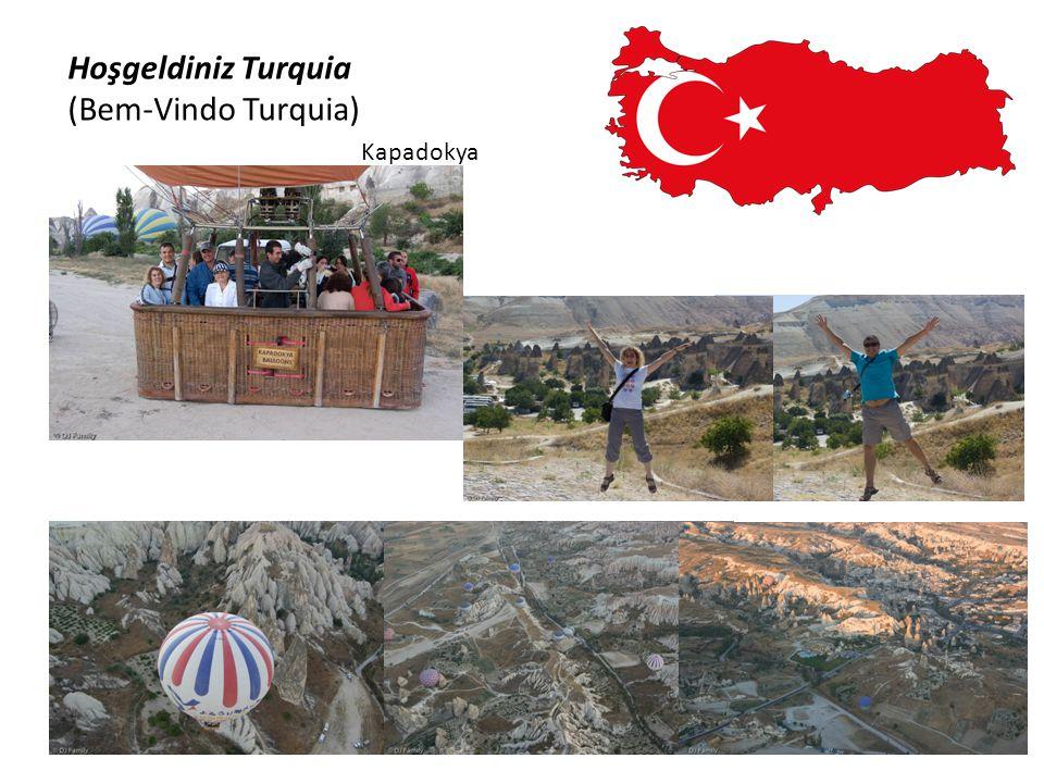 Hoşgeldiniz Turquia (Bem-Vindo Turquia) Pamukkale
