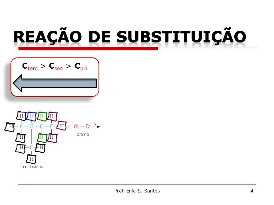 4 C terc > C sec > C pri
