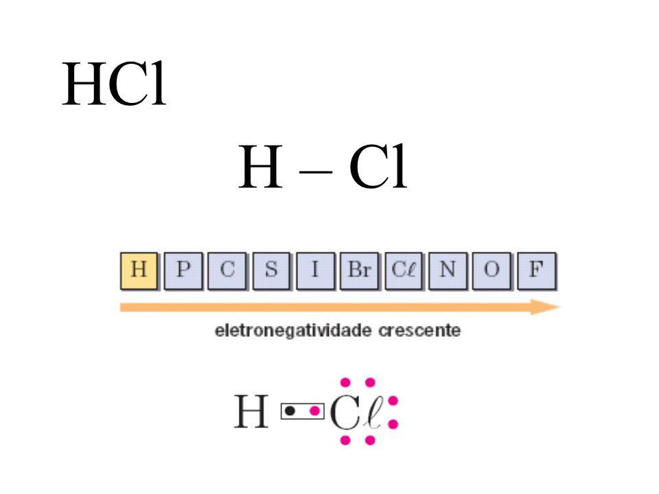H – Cl HCl