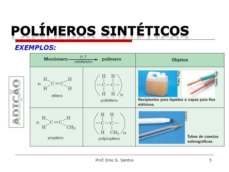 Prof. Enio S. Santos5 EXEMPLOS: