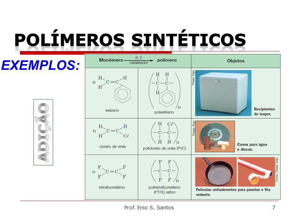 Prof. Enio S. Santos7 EXEMPLOS: