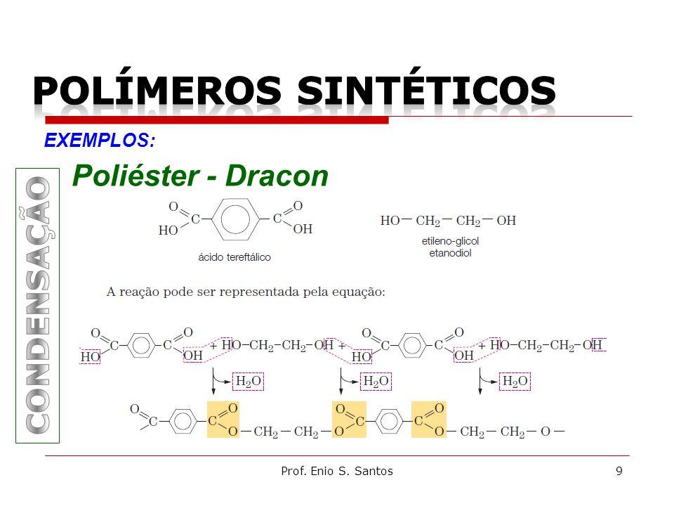 Prof. Enio S. Santos9 EXEMPLOS: Poliéster - Dracon
