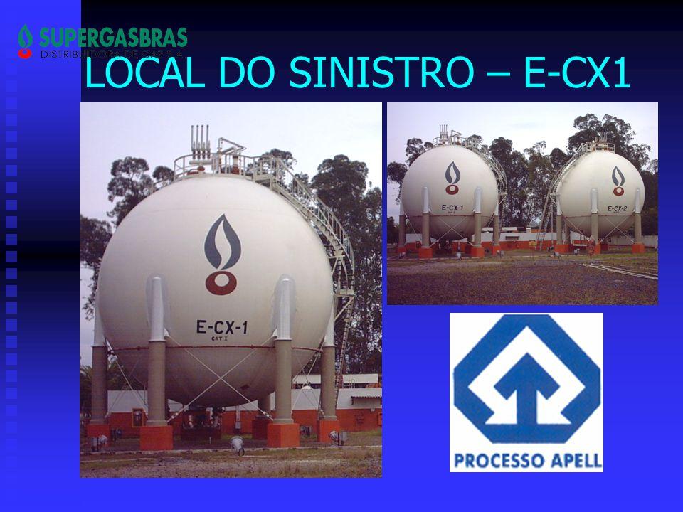 LOCAL DO SINISTRO – E-CX1