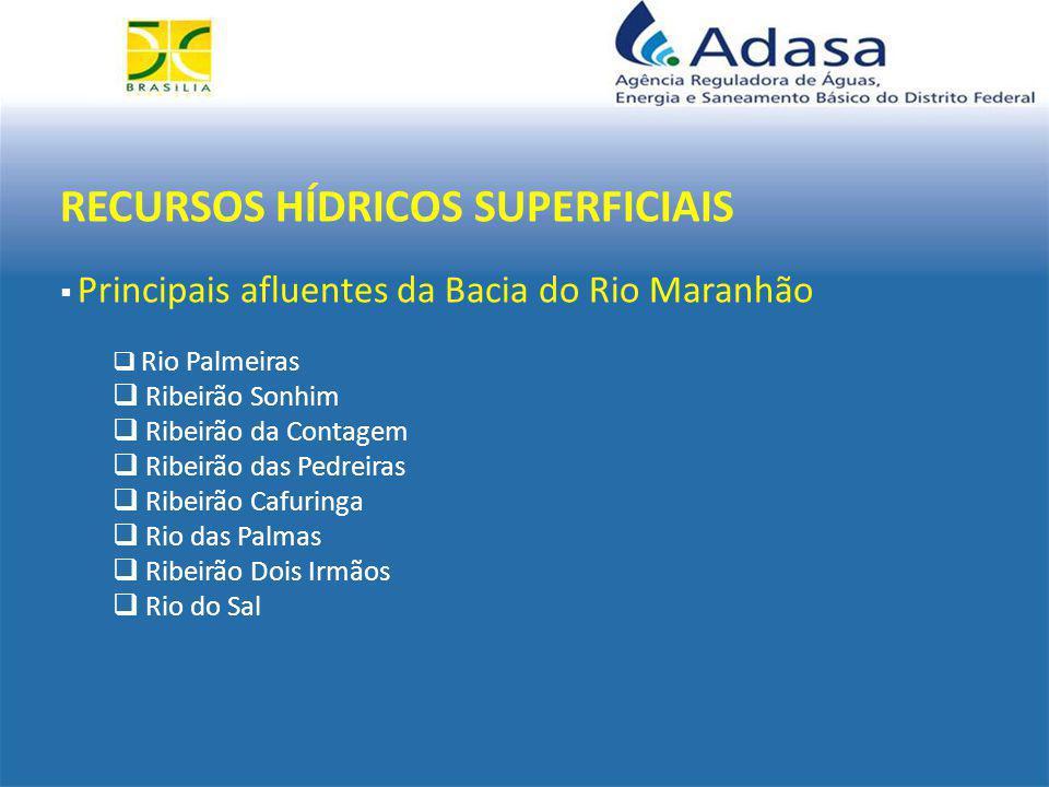 SISTEMA DE OUTORGAS  ÁGUAS SUPERFICIAS  ÁGUAS SUBTERRÂNEAS