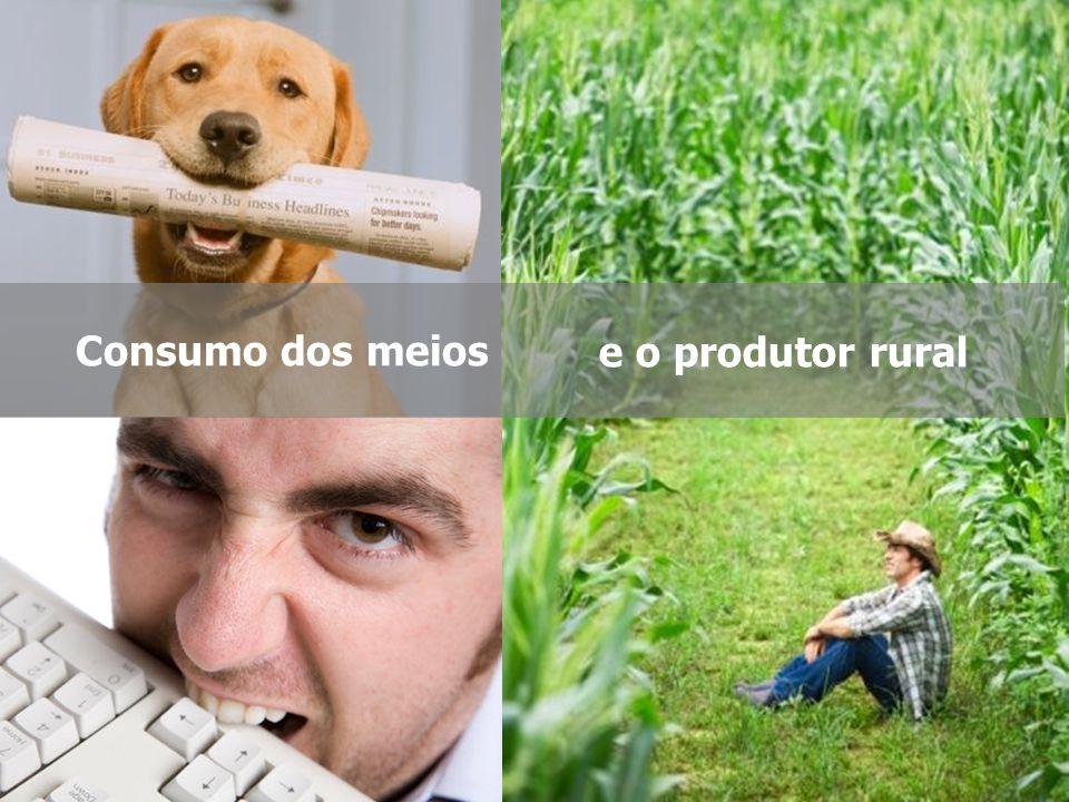 Consumo dos meios e o produtor rural