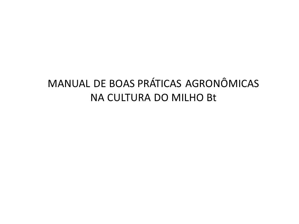 Introdução O milho Bt é obtido por meio da transformação genética de plantas de milho com genes da bactéria Bacillus thuringiensis, os quais promovem a expressão de proteínas com ação inseticida.