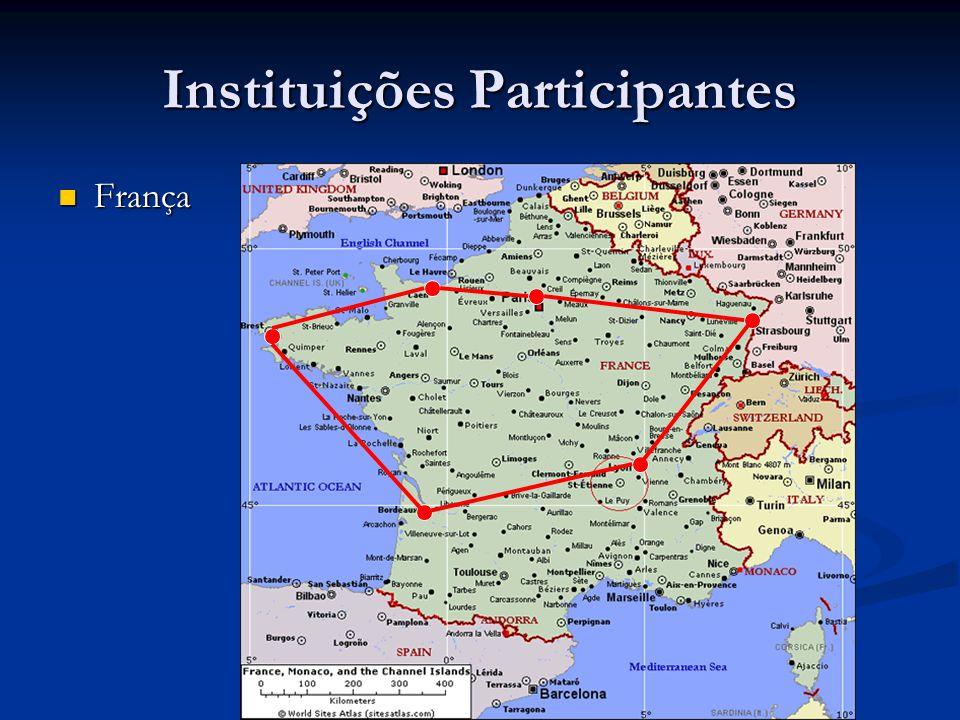 Instituições Participantes França França