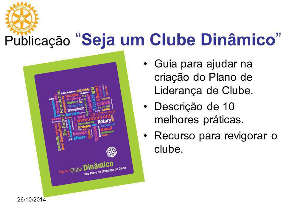 Guia para ajudar na criação do Plano de Liderança de Clube.