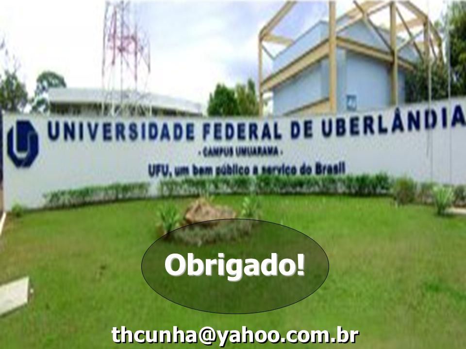thcunha@yahoo.com.br Obrigado!