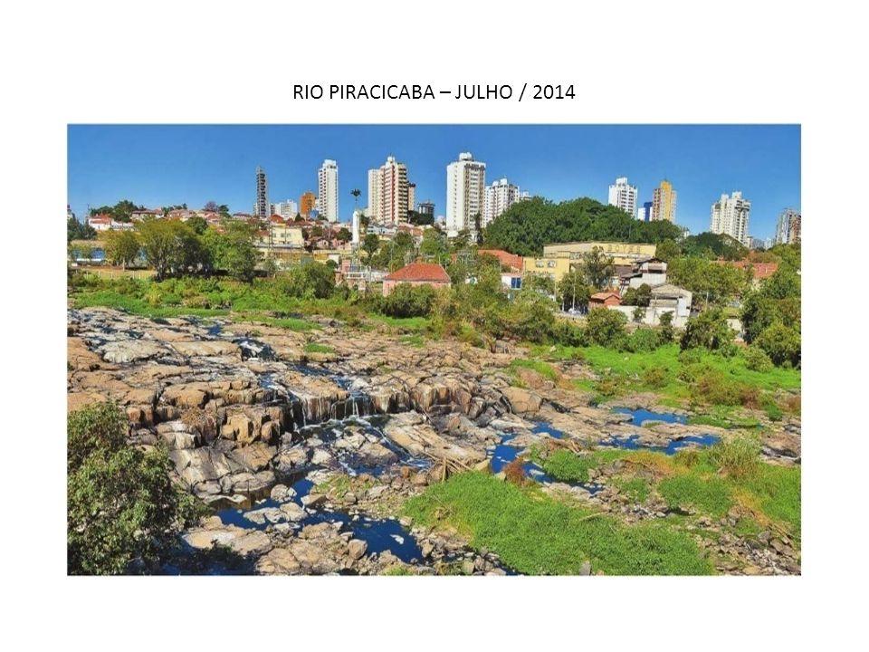 RIO PIRACICABA – JULHO / 2014