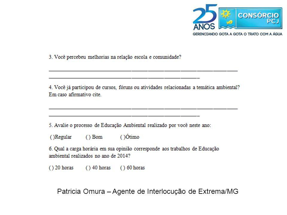 Patricia Omura – Agente de Interlocução de Extrema/MG